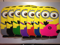 Wholesale 3D minion despicable me cute cartoon case for IPAD ipad air ipad mini D Cute Despicable Me