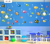 baby clown fish - The clown fish Sea fish cm For Kids Baby Room Wall Sticker Paper Decor Decal AY618
