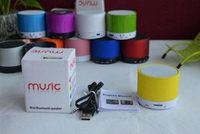 Wholesale HiFi ECHO S10 Mini Speacker Metal Bluetooth TF Portable Phone Handfree Mic Stereo Mini Speaker Speakers