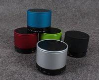 Wholesale ECHO S10 Mini Speacker Metal Bluetooth TF Portable Phone Handfree Mic Stereo HiFi S Speaker Speakers