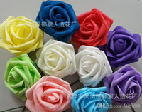 Wholesale PE cartoon bouquet of roses artificial flowers simulation DIY handmade roses