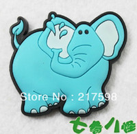 Wholesale 6pcs new lovley catoon animal elephant fridge magnets for children refrigerator magnets board B738