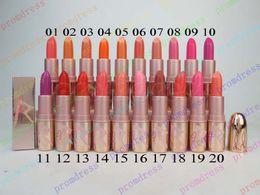 Wholesale 20pcs New brand HOT Makeup rihanna RiRi Hearts Lipstick lip balm color
