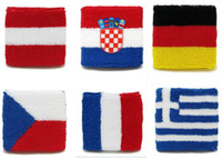 Wholesale 2014 world cup national Wrist Support Sport Band Sports Safety Basketball Tennis Volleyball Badminton Sweatband Wristband Via DHL shipping