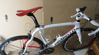 Wholesale complete bike Pinarello Dogma think full Carbon Road bicycle with Original Ultegra groupset full bike white red
