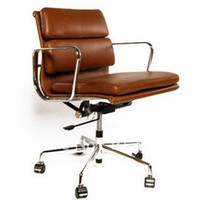 Wholesale Modern Office Chair Eames Aluminum Lounge Chair EA217 Swivel Chair Office Furniture Fashion Chair
