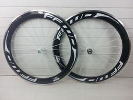Wholesale clincher in stock New arrivel FFWD mm carbon road bicycle wheels novatec hubs