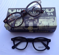 Wholesale Black Tortoiseshell Blonde color Moscot Eyeglass Frame size S M L