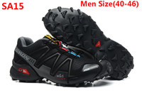 Unisex run - 2013 new arrival salomon Running shoes men man sport men running shoes mens sneakers with box Size