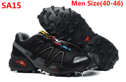 Wholesale 2013 new arrival salomon Running shoes men man sport men running shoes mens sneakers with box Size