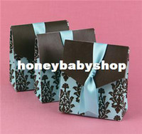 Blue tiffany blue favor boxes - 2014 wedding supplies wedding candy box Creative candy box Blue Specials