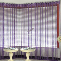 Wholesale New Fashion cm cm Colors Window Curtain String Curtain String Fringe Panel Room Divider Wedding Drapery