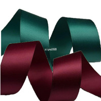 Quilt Accessories Ribbons Yes Wholesale Satin Ribbons Belt Gift Packing Silk Ribbon Polyester Ribbon 5cm Wide*50m Wedding Decoration Hair Accessory Bowknot
