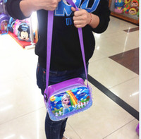 Wholesale Frozen bags Children Fashion Cartoon handbags kids Small shoulder bags children day s gift children frozen purse DHL