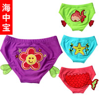 Girl Swim Trunks 3-6 Months Swim Diapers for Swimwear Swimsuit or Girls 0-2 Years Old free shipping Baby pants High quality fabrics