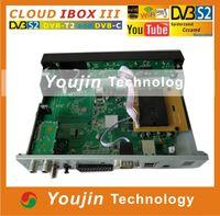Wholesale 2014 Cloud ibox Twin Tuner Enigma Linux HD Decoder Cloud ibox3 Receiver DVB S S2 T2 C Cloud Ibox iii Decoder Samsat HD