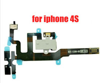 For Apple iPhone best iphone replacement headphones - Best quality For iPhone S Black Headphone Audio Jack Power Volume Switch Flex Cable Replacement