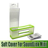 Wholesale 2014 new silicon cases Soft Case for SoundLink Mini Bluetooth speaker protective case goodbiz