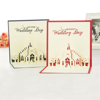 Wholesale Handmade amp Creative Church D Pop UP Gift amp Greeting Cards With Church amp Lover Design set of