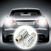 Wholesale Retail DC12V S25 W Cree Q5 Led Car Reverse Tail Light Source Bulb Lamp White