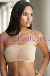 Wholesale 500pc Fashion Sexy Womens Strapless Boob Tube Top Bandeau Bra Z63
