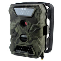 Wholesale Infrared Night Vision Hunting Camera trail Scouting Camera Game Hunting GPRS MMS SMS Control Megapixels P Video IR LEDs nm W2008G