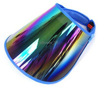 Wholesale 2014 SUN VISOR HAT CAP UV PROTECTION HIKING GOLF TENNIS OUTDOOR UV BLOCK ZD167