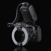 Wholesale YONGNUO Universal YN M YN14M Macro Flash Ring Light Lamp with Adapter for DSLR Camera Canon Nikon Pentax