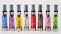 Non-Replaceable 1.6ml Glass CE4 Atomizer Cartomizer 510 E cig eGo Electronic Cigarette E-cigarette Capacity 1.6ml CE4 long wick clearatomizer various colors 200pcs
