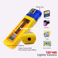 Wholesale Mini DVR Lighter Camera Sound Activation Hidden camera Mini Camcorders