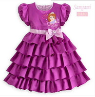 TuTu Summer Straight 2014 New Arrival Baby Summer Girl'S Clothes Princess Dresses Fashion Snow White Dress With Short Sleeve L30712