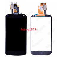 Wholesale 10 For LG E960 LCD Display with Touch Screen Digitizer for LG E960 Nexus Replacement by DHL EMS