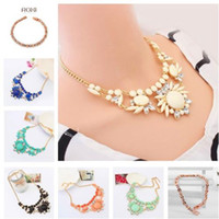 Wholesale Details about Womens Vintage Crystal Beads Choker Bib Statement Necklace Pendant Jewelry