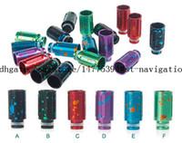 drip tips drip tips - HOT selling drip tip e cig splash aluminum wide bore drip tip for ecigs RDA Vape Mod e cigarette