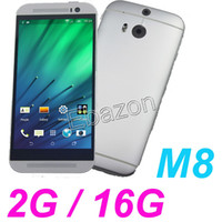 Wholesale 1 HDC One M8 Quad Core MTK6582 GHz GB GB Android KitKat G WCDMA Single Micro Sim MP Camera G Smart Phone Wifi GPS