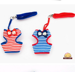 14201 Wholesale Abby Pet Products Dog Supplies Dog Harness & Leads Cute Fashion Mix Colors And Sizes 5PCS LOT