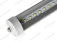 Wholesale 20W lm FA8 single pin LED tube light lamp SMD LED tubes SMD2835 led T8 FA8 mm m feet FT AC85 V MYY9053