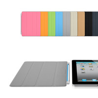 Wholesale Sleep Wake UP Smart Magnetic Cover Case for Apple iPad2 iPad new iPad3 iPad iPad4 iPad iPad Air PC Stander FREE DHL FACTORY
