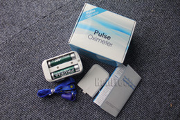 Wholesale Automatical Intelligent finger Pulse oximeter with beep and alarm function finger oximetry