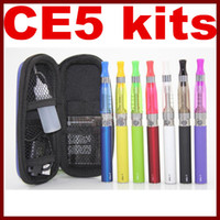 CE5 Kits eGo electronic cigarette kits CE5 Atomizer clearomi...