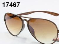 Wholesale Fashionable Mens Womens Designer Sunglasses Sun Glasses Lens Gold Frame green Lens