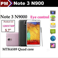 Wholesale 1 Note N9000 MTK6589 G G Quad Core inch IPS Screen Android WiFi Air Gesture USB N9006 WCDMA G Smart Mobile Phone
