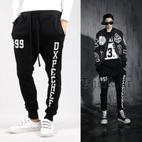 Wholesale 2014 New Sport Haren Pants Hip Pop Sweatpants Casual Capri Pants For Men Drop Shipping