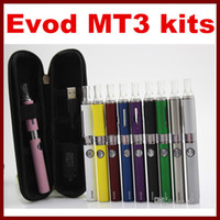 MT3 EVOD Starter Kit E- Cig kits E Cigarette Zipper case batt...