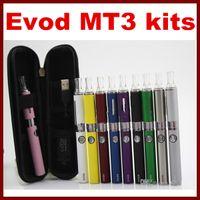 MT3 EVOD Starter Kit E- Cig kits E Cigarette Zipper case mt3 ...