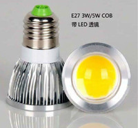 Spotlight cheap light bulbs - New Arrival GU10 E27 COB led lamps light W W W LED Bulb Lamp V Cheap