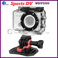 Wholesale Sports DV WDV5000 Camcorders P MP CMOS X Digital Zoom Wi Fi Anti Shake Outdoor Waterproof for iPhone Tablet SmartPhone