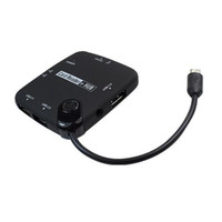 Cheap for smart phone with microusb and OTG smart phone otg combo Best Black Multi in one samsung usb hub reader