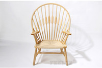 Wholesale Art Peacock Chair solid ASH wood simple fashion euro syle Leisure chair
