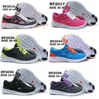 Wholesale Outdoor shoes Best Running Shoes New colors Free Run Bareboot Running Shoes Free Run for men and women Mesh Rubber Breathable shoes